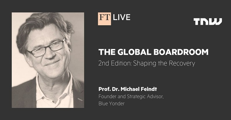 Financial Times: The Global Boardroom featuring Dr. Michael Feindt