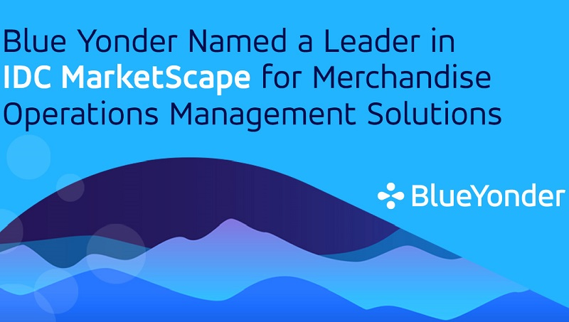 Blue Yonder Named a Leader in IDC MarketScape for Merchandise Operations Management Solutions