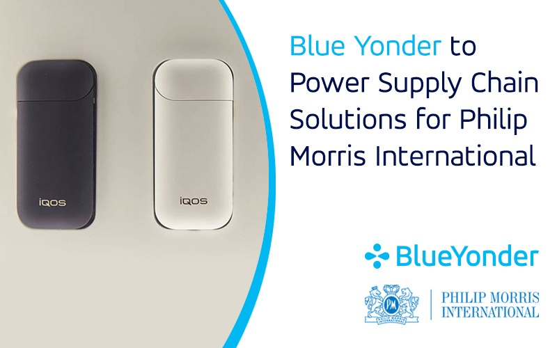 Blue Yonder to Power Supply Chain Solutions for Philip Morris International