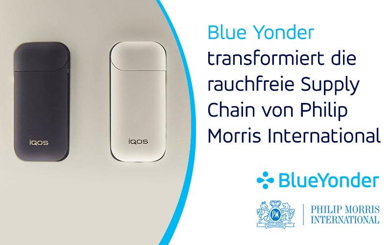 Blue Yonder transformiert die rauchfreie Supply Chain von Philip Morris International