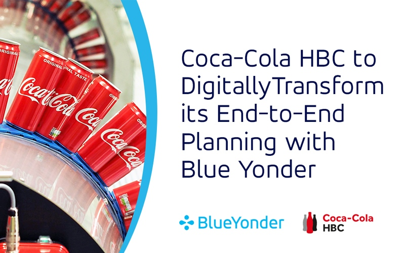 Coca-Cola HBC to Digitally Transform its End-to-End Planning with Blue Yonder