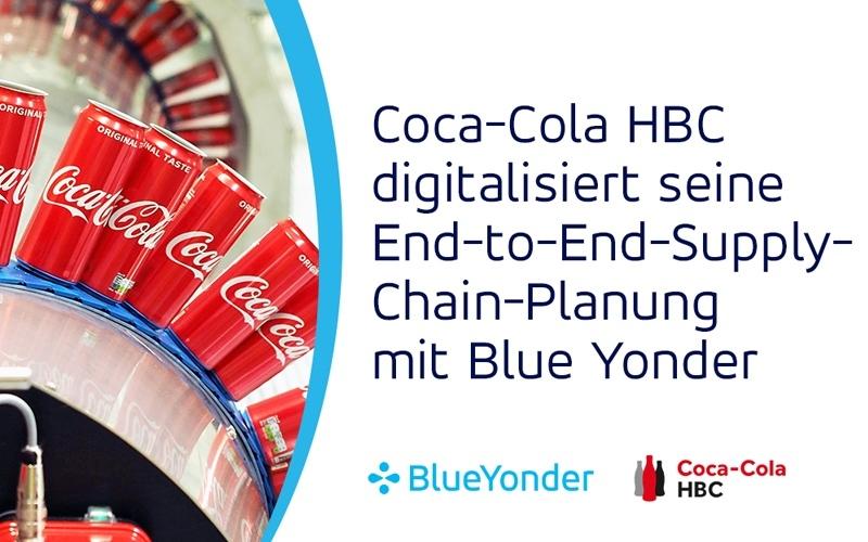 Coca-Cola HBC digitalisiert seine End-to-End-Supply-Chain-Planung mit Blue Yonder