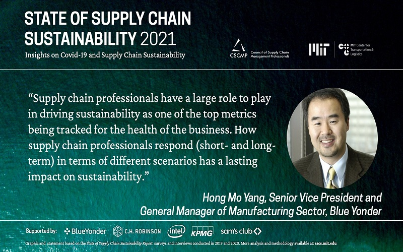 Sustainability as a Business Imperative in Supply Chain Management Increases, According to New Report