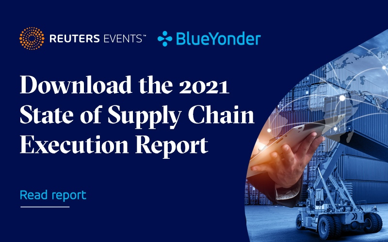 Explosive E-Commerce Growth Driving Tech Investments in Supply Chain Execution Systems and High ROI According to New Blue Yonder and Reuters Events Supply Chain Report
