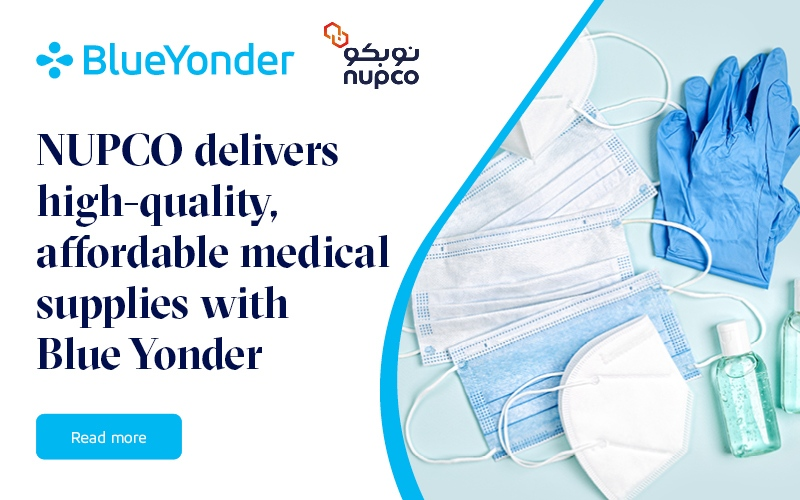 NUPCO Drives its Vision 2030 Goals to Deliver High-Quality, Affordable Medical Supplies with Blue Yonder